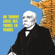 Carte postale, Carte postales, Cartes postale, Cartes postales, Clemenceau, Le tigre, Vendée, Humour, Image humour