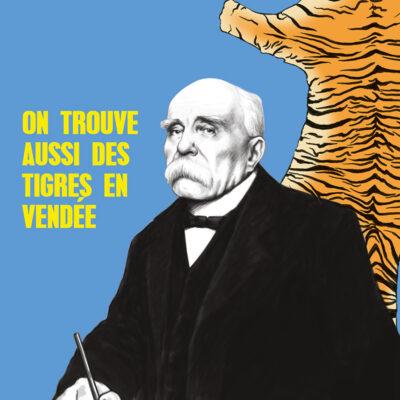 Carte postale Clemenceau Le tigre – Vendée