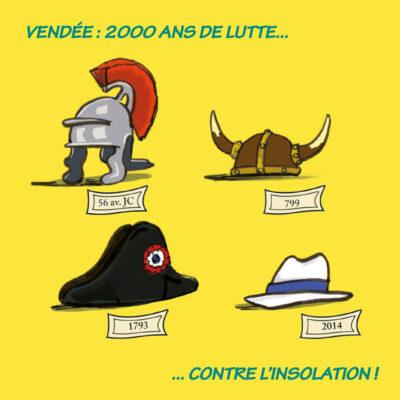 Carte postale chapeaux de Vendée