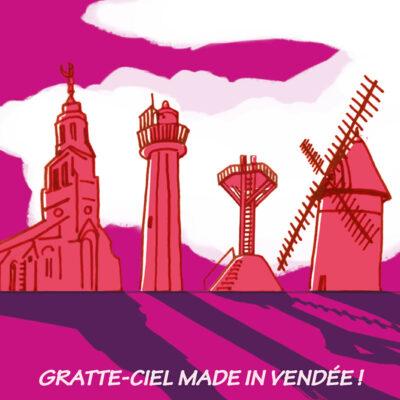 Carte postale Vendée