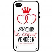 Coque pour smartphone, Coque de smartphone, Coques pour smartphones, Coque smartphone humour, Vendée, Image humour, coeur vendéen, coeur de Vendée