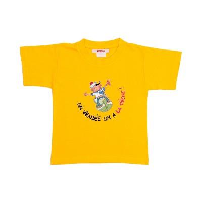 T-shirt enfant humour – Vendée