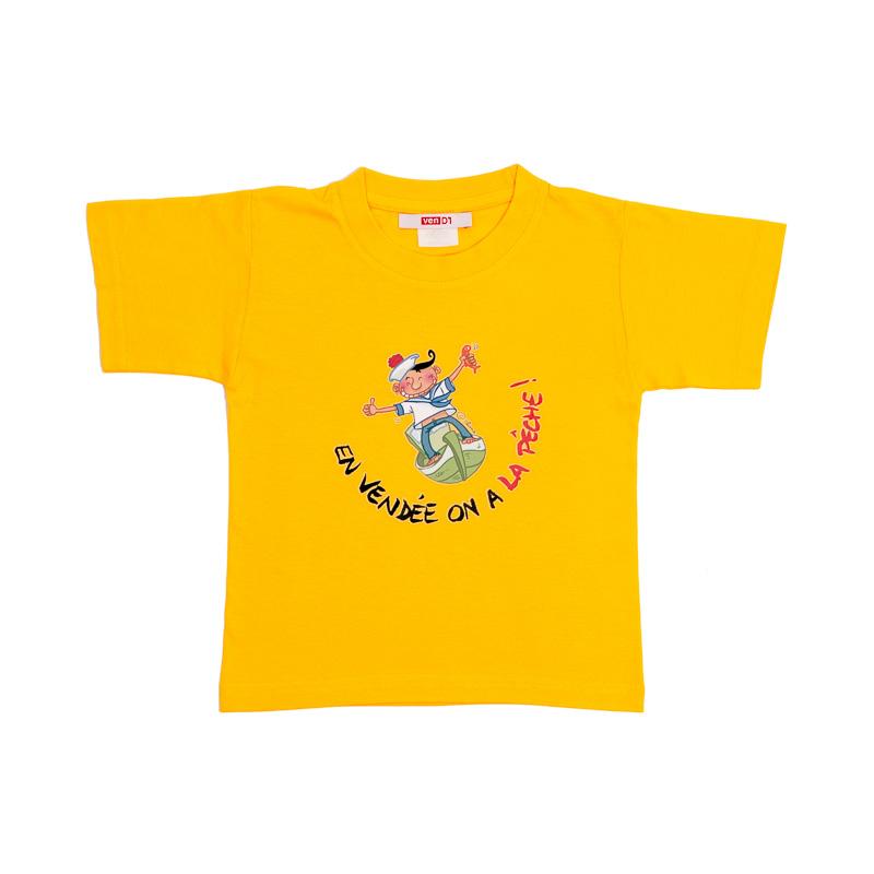 T-shirt enfant, T-shirts Vendée, Humour, Image humour, Vendée