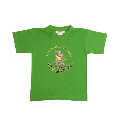 tee-shirt enfant humour vendéen