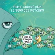 Magnet, Magnets, Vendée, bouchons de retour de vacances, humour, image humour