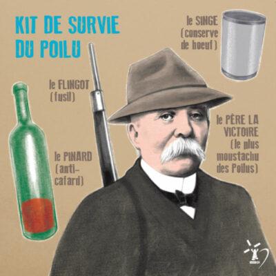 Carte Postale Clemenceau Père la Victoire