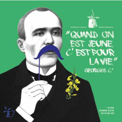 Carte postale Clemenceau Jeune