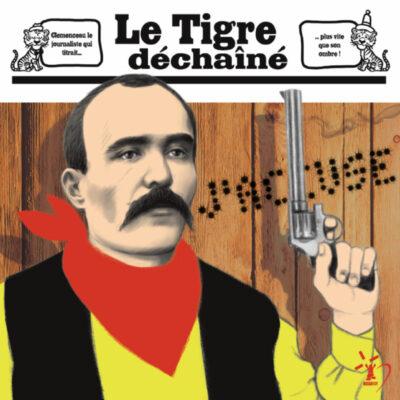 Carte postale Clemenceau Journaliste