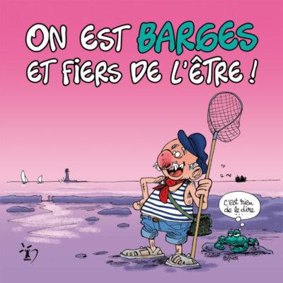 Carte postale barges – Polpino – Vendée
