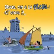 Magnet, Magnets, Polpino, la pêche, Vendée, image humour