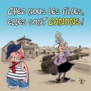 Magnet, Magnets, Polpino, Canons des Sables d'Olonne, Vendée, image humour