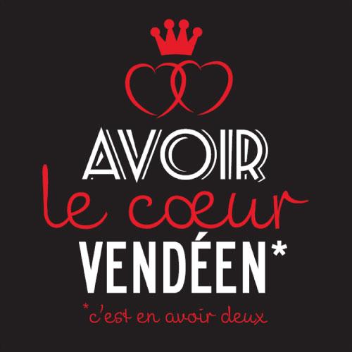 double cœur, cœur vendéen, cœur de Vendée, Magnet, magnets, humour, image humour