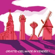 Magnet, Magnets, Vendée, Grattes ciel vendéens, image humour