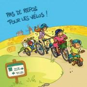 Magnet, magnets, vélo, ballade, Vendée, image humour