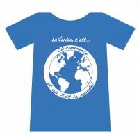 t-shirt vendéen de compétition