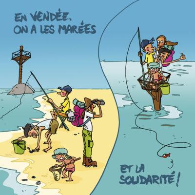 Carte postale Noirmoutier – Vendée