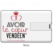 cle usb, clés usb, clé usb originale, Vendée, Humour, Image humour, cœur vendéen, cœur de Vendée