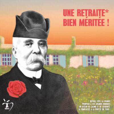 Carte postale Clemenceau Retraite